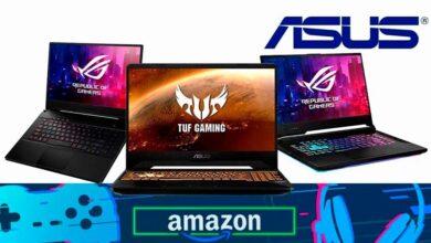 Photo of Estrena equipo ahorrando dinero: estos 8 potentes portátiles gaming de ASUS están rebajados en Amazon
