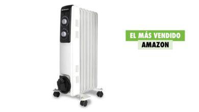 Photo of El radiador más vendido de Amazon es perfecto para la ola de frío que se avecina y hoy tiene un 20% de descuento