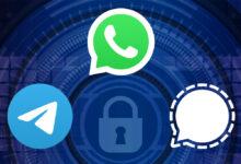 Photo of WhatsApp vs Telegram vs Signal, comparativa: ¿cuál es la app de mensajería más segura?