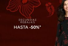 Photo of Segundas rebajas en Desigual con descuentos de hasta el 50% en vestidos, camisetas, abrigos o leggings