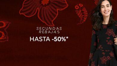 Photo of Segundas rebajas en Desigual con descuentos de hasta el 50% en vestidos, camisetas, abrigos o leggings