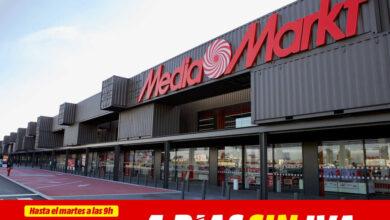 Photo of Ahórrate el IVA en televisores, móviles o portátiles: vuelven los días sin IVA a MediaMarkt este fin de semana