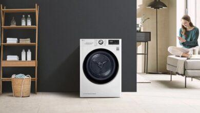 Photo of Esta eficiente secadora LG con WiFi se limpia automáticamente y hoy la tienes por 133 euros menos en los días sin IVA de MediaMarkt