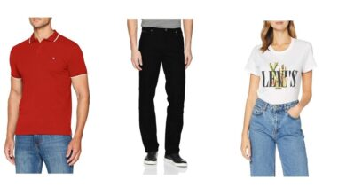 Photo of Chollos en tallas sueltas de pantalones, camisetas o polos de marcas como Levi's, Wrangler o Lee en Amazon