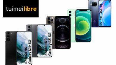 Photo of Ofertas en smartphones de gama alta en tuimeilibre: los mejores precios para los Galaxy S21, los iPhone 12 o el Xiaomi Mi 10T Lite
