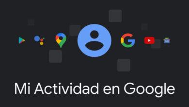 Photo of La página de 'Mi actividad en Google' recibe el tema oscuro