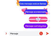 Photo of Cómo enviar en Messenger textos con efectos de fuego, corazones, regalos y otros