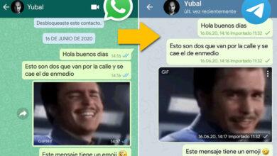 Photo of Cómo importar los chats de WhatsApp en Telegram con un móvil Android