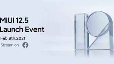 Photo of Xiaomi lanzará MIUI 12.5 el 8 de febrero y a nivel mundial