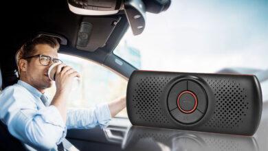 Photo of El manos libres Bluetooth para coche más vendido de Amazon no necesita instalación, se controla por voz y cuesta menos de 20 euros