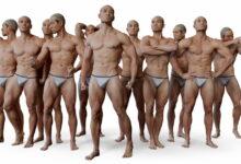 Photo of Una tienda de modelos humanos 3D donde comprar cuerpos completos, cabezas, pies y hasta expresiones faciales