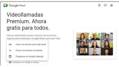 Photo of Google Meet tiene nuevas opciones para iniciar reuniones
