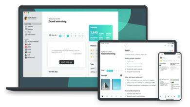 Photo of Una app con plantillas para usar como planificador y diario personal