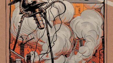 Photo of La guerra de los mundos en una preciosa edición ilustrada de Libros del Zorro Rojo