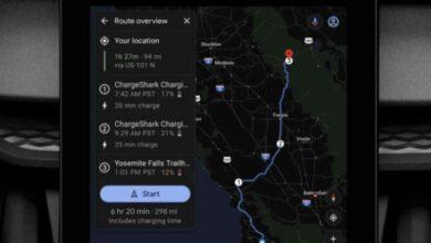 Photo of Google Maps ayudará en la planificación de las rutas para los vehículos eléctricos