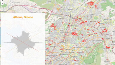 Photo of Mapas de las calles alineadas con los solsticios en ciudades de todo el mundo