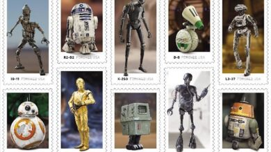 Photo of Sellos oficiales con los robots de Star Wars