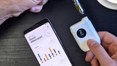 Photo of Artefacto inteligente de vapeo de cannabis permite a los usuarios personalizar la dosis