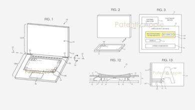 Photo of Una nueva tecnología patentada por Apple para poner una pequeña pantalla en cada tecla del teclado