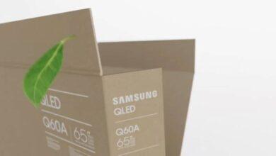 Photo of Samsung adelanta #CES2021 presentando empaques ecológicos en sus televisores