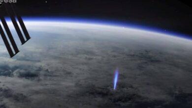 Photo of Muy extraño: la Estación Espacial Internacional detectó chorros azules de las nubes hacia el espacio, ¿qué son?