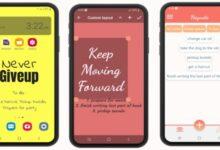 Photo of Esta app permite crear notas y lista de tareas en el fondo de pantalla del móvil