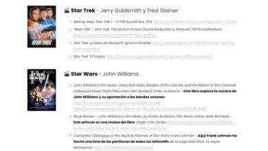Photo of La lista de listas de leitmotivs musicales: 500 enlaces a recursos (y creciendo)