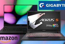 Photo of Estos 7 portátiles gaming de Gigabyte tienen potencia de sobra y llevan descuentos de entre 200 y 300 euros esta semana en Amazon