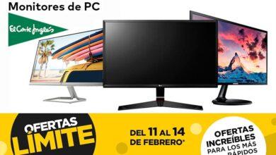 Photo of En las ofertas Límite 48 Horas de El Corte Inglés puedes comprar estos 13 monitores de HP, LG, MSI, Philips o Samsung con descuentos de hasta el 25%