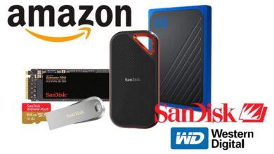 Photo of GB y TB para tu ordenador, tu smartphone o tu cámara al mejor precio: las ofertas en almacenamiento Western DIgital y SanDisk de la semana en Amazon