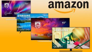 Photo of Estas 16 smart TVs de Samsung, Philips y Thomson salen mucho más baratas en Amazon esta semana