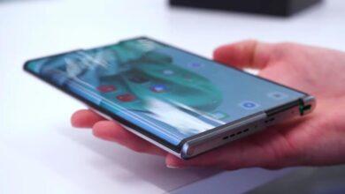 Photo of El teléfono enrollable de OPPO se deja ver en vídeo mostrando su funcionamiento