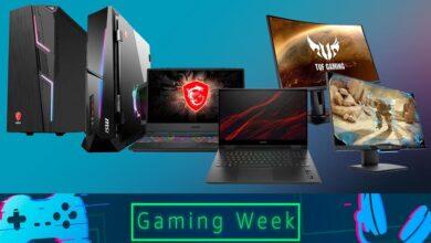 Photo of Gaming Week en Amazon: 23 portátiles, sobremesa y monitores de HP, ASUS, MSI o Samsung a los mejores precios
