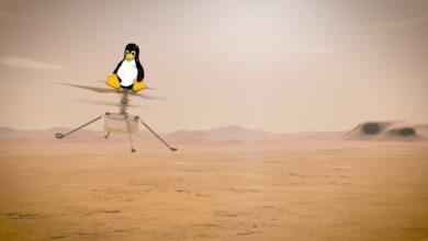 Photo of 2021 es el año de Linux en Marte gracias a ir como sistema operativo del helicóptero que acompaña al rover Perseverance