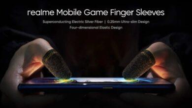 Photo of Realme se lanza a por el 'gaming' móvil con fundas con plata para los dedos, mandos a lo 'Joy-con' y un ventilador con luz RGB