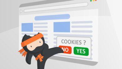 Photo of Ninja Cookie es una extensión para Chrome, Firefox y Safari que elimina para siempre los avisos de cookies