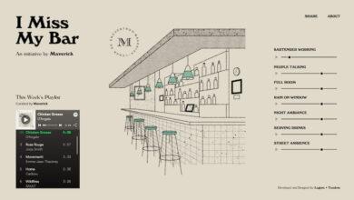 Photo of Sonidos ambientales en un bar virtual, para quienes echan de menos la música y los ruidos de la socialización