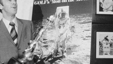 Photo of ¿Jugar golf en la Luna? Alan Shepard lo hizo, y hallaron su pelota 50 años después