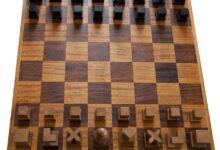Photo of El precioso ajedrez Bauhaus de Josef Hartwig