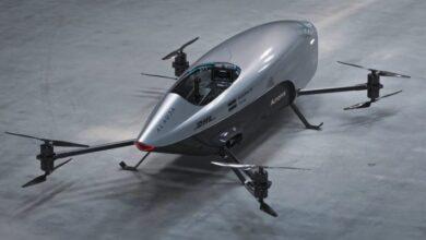 Photo of El primer coche de carreras volador eléctrico