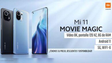 Photo of Xiaomi Mi 11, impresionante móvil con vídeo 8K, 120Hz y cámara de 108MP, este es su precio, descuento y disponibilidad