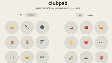 Photo of Clubpad: efectos de sonido para tener a mano y animar Clubhouse, Zoom y otros chats