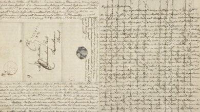 Photo of Los tiempos en los que se escribían las cartas de forma peculiar sobre la misma hoja de papel para ahorrar gastos de envío