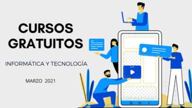 Photo of 32 cursos gratuitos de tecnología para empezar en marzo