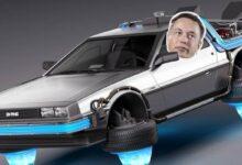 Photo of Elon Musk trabaja en un Tesla Roadster que flote como en Volver al Futuro