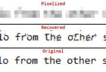 Photo of Recuperar textos, contraseñas y rostros de imágenes pixeladas con mosaicos es posible (y a veces fácilmente)
