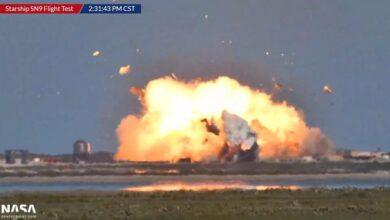 Photo of Starship SN9 otra explosión buscando el aterrizaje perfecto
