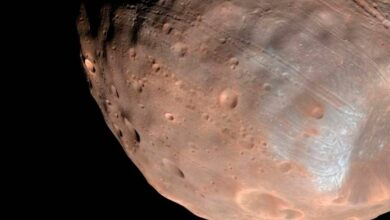 Photo of Científicos planean encontrar partículas de una antigua atmósfera de Marte, en Fobos, una de las lunas del planeta rojo