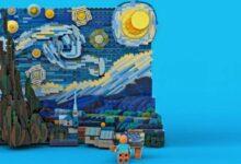Photo of LEGO recreará La Noche Estrellada de Vincent van Gogh en un set de 1.552 piezas