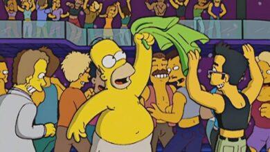 Photo of Los Simpson: alguien juntó todas las bromas LGBTQ de 31 años en un solo video